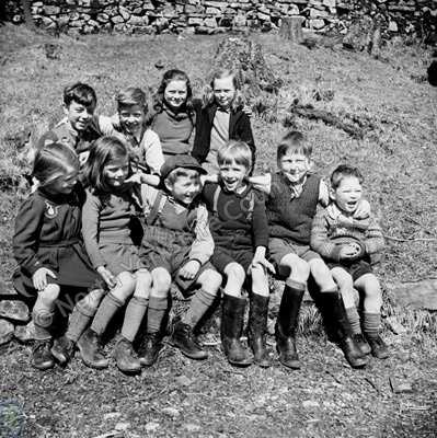 Schoolchildren, Oughtershaw